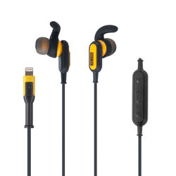 DeWalt  Jobsite  Lightning  Earphone  1 pk