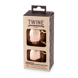 Twine  2 oz. Copper  Shot Glass  Stainless Steel