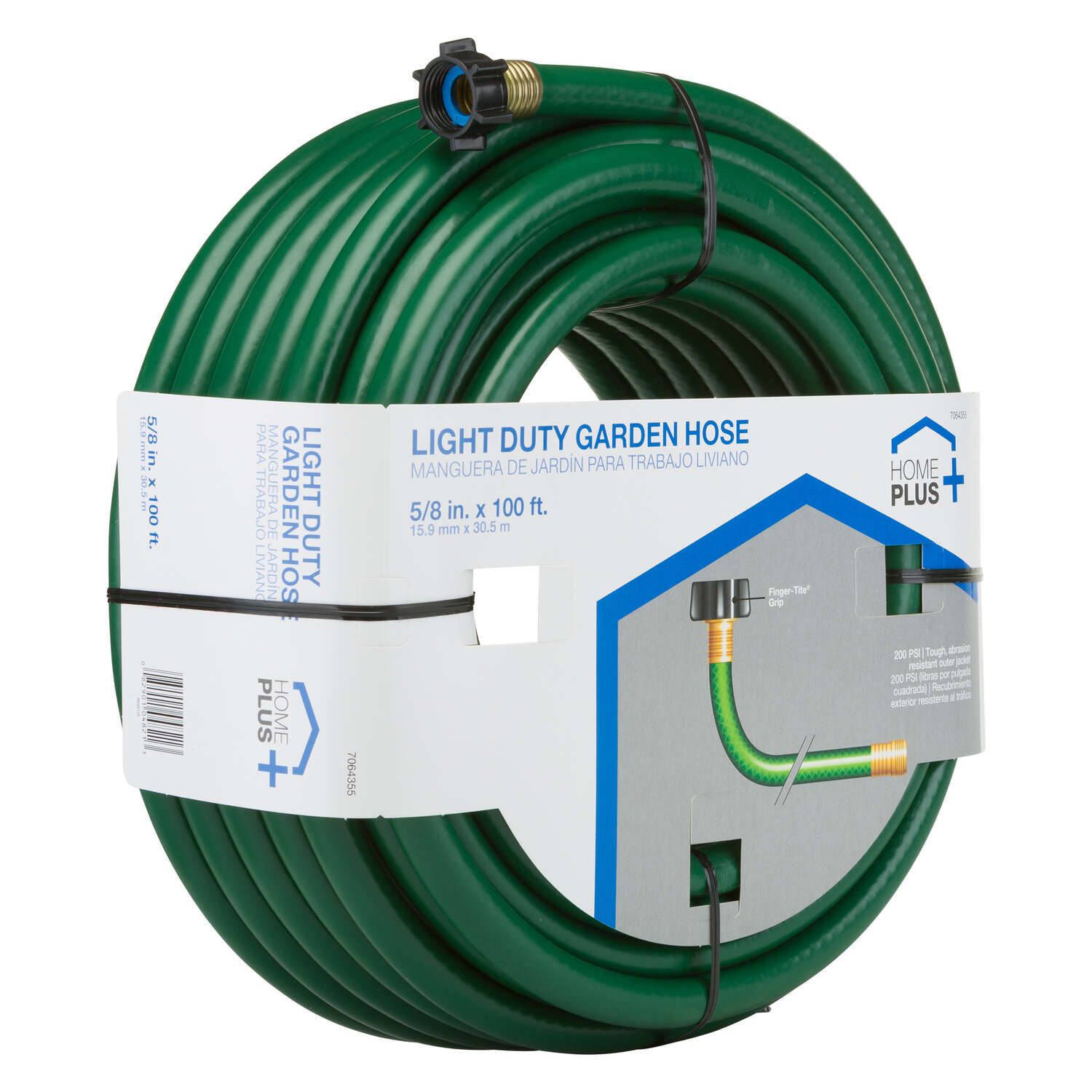 Ace  Ace  5/8 in. Dia. Hose  Green  Medium-Duty