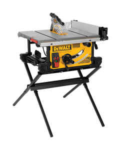 DeWalt  Job Site  10 in. Corded  Table Saw  15 amps 4800 rpm