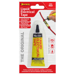 Star Brite  4 in. W x 7 in. L Red  Liquid Electrical Tape