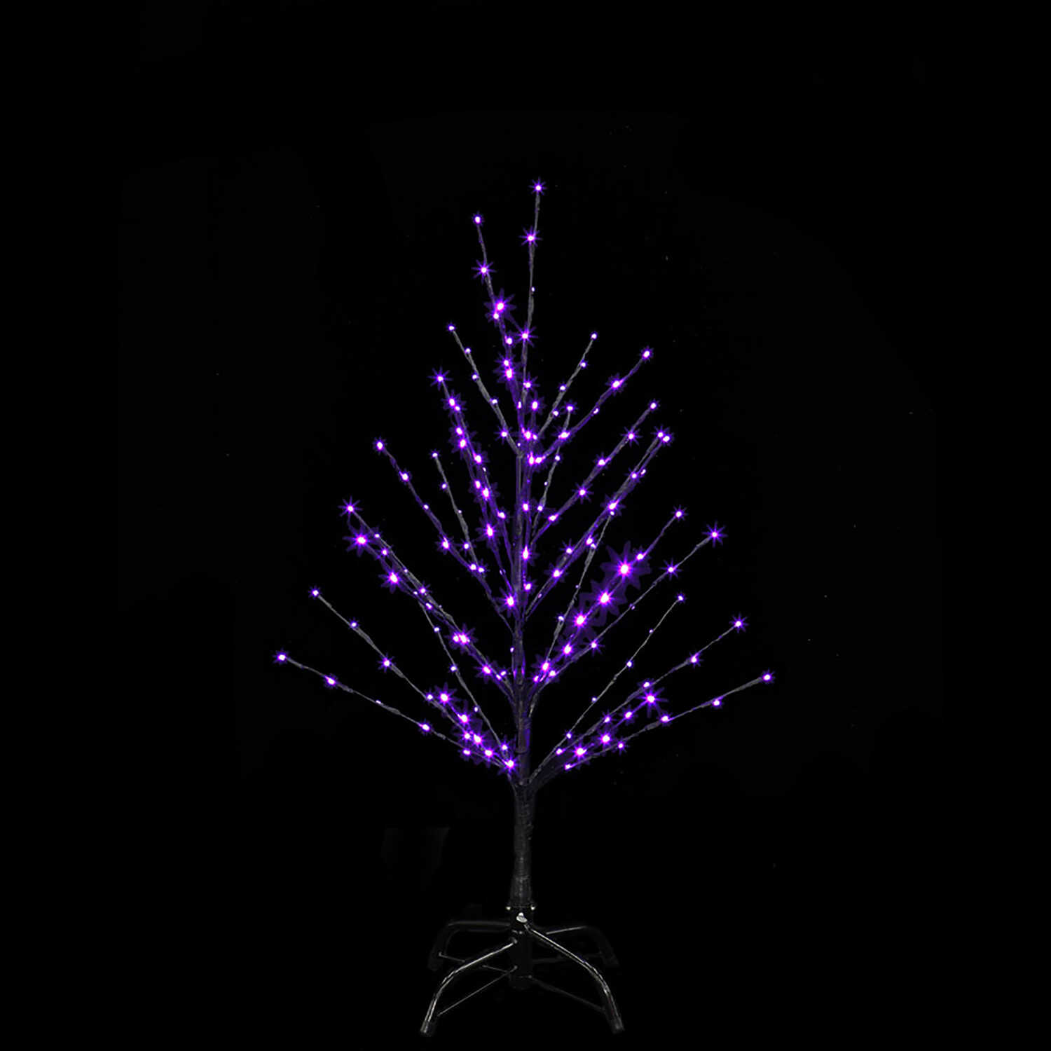 Santa's Best  Twig Tree  Lighted 24 in. H x 18 in. L x 18 in. W Halloween Decoration  1 pk