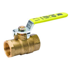 B&K  ProLine  3/4 in. Brass  Threaded  Ball Valve  Full Port
