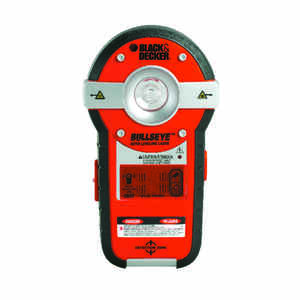 Black and Decker  BullsEye  Self Leveling Laser Line and Stud Finder  1 pc.