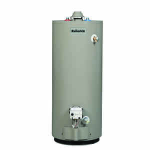 Reliance  Propane  Water Heater  51-1/2 in. H x 22 in. L x 22 in. W 40 gal.