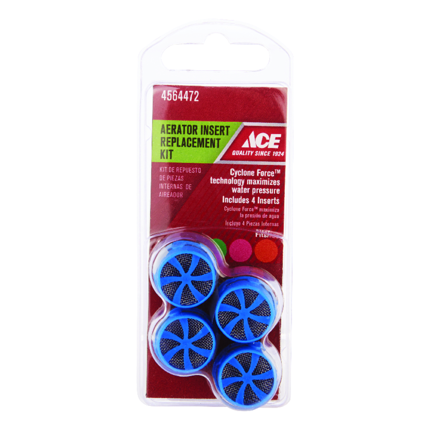 Ace  Faucet Aerator Repair Kit  15/16 in.  x 0.00 in.  Blue