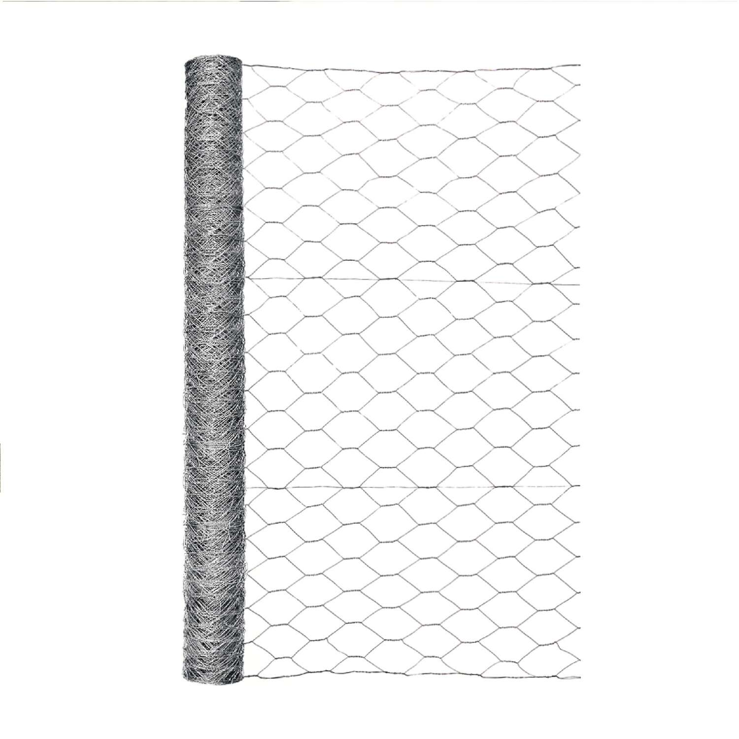Garden Craft 36 in. H x 50 ft. L 20 Ga. Silver Poultry