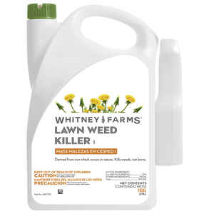 Whitney Farms  Ready-To-Use  Organic Weed Killer  RTU Liquid  1 gal.