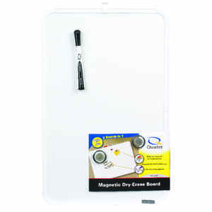 Quartet  17 in. H x 11 in. W Self-Adhesive  Dry Erase Board