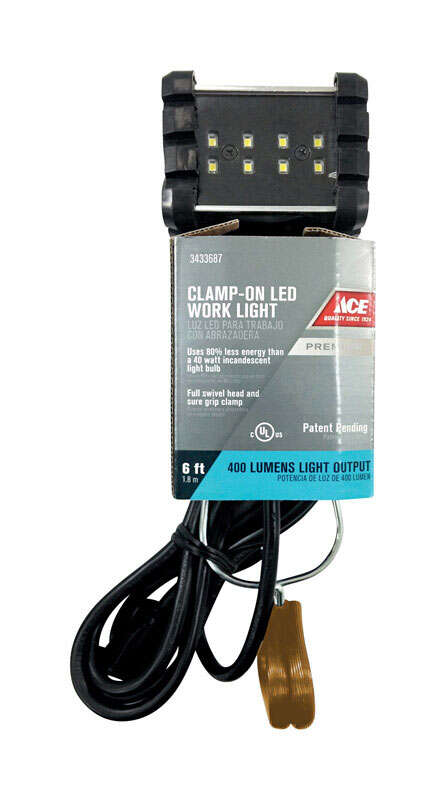Ace LED Clamp Light