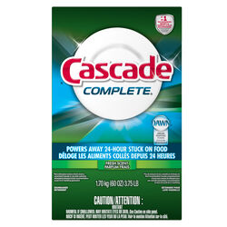 Cascade  Complete  Fresh Scent Powder  Dishwasher Detergent  60 oz. 6 pk