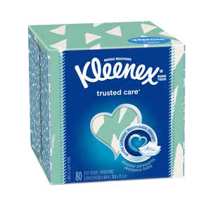 Kleenex  80 count Facial Tissue