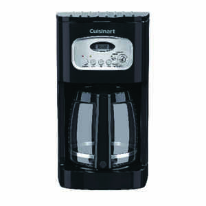 Cuisinart  Brew Central  12 cups Black  Coffee Maker