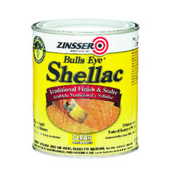 Zinsser Bulls Eye Clear Shellac Finish and Sealer 1 qt.