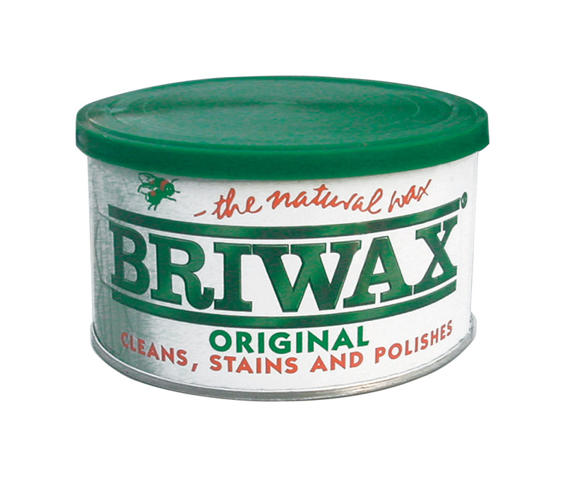 Briwax Original  The Nature Wax  Light Brown  Paste Wax  Paste  16 oz.