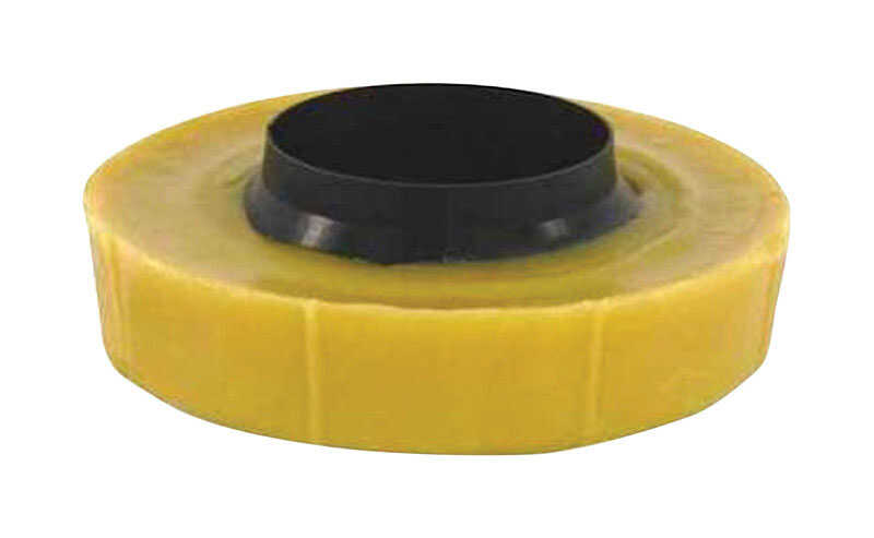 Harvey's  Bol-Wax No. 10  Wax Ring  Polyethylene / Wax  For Floor outlet to toilet bowl
