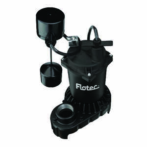 Pentair  Flotec  1/3 hp 4200 gph Zinc  Submersible Sump Pump