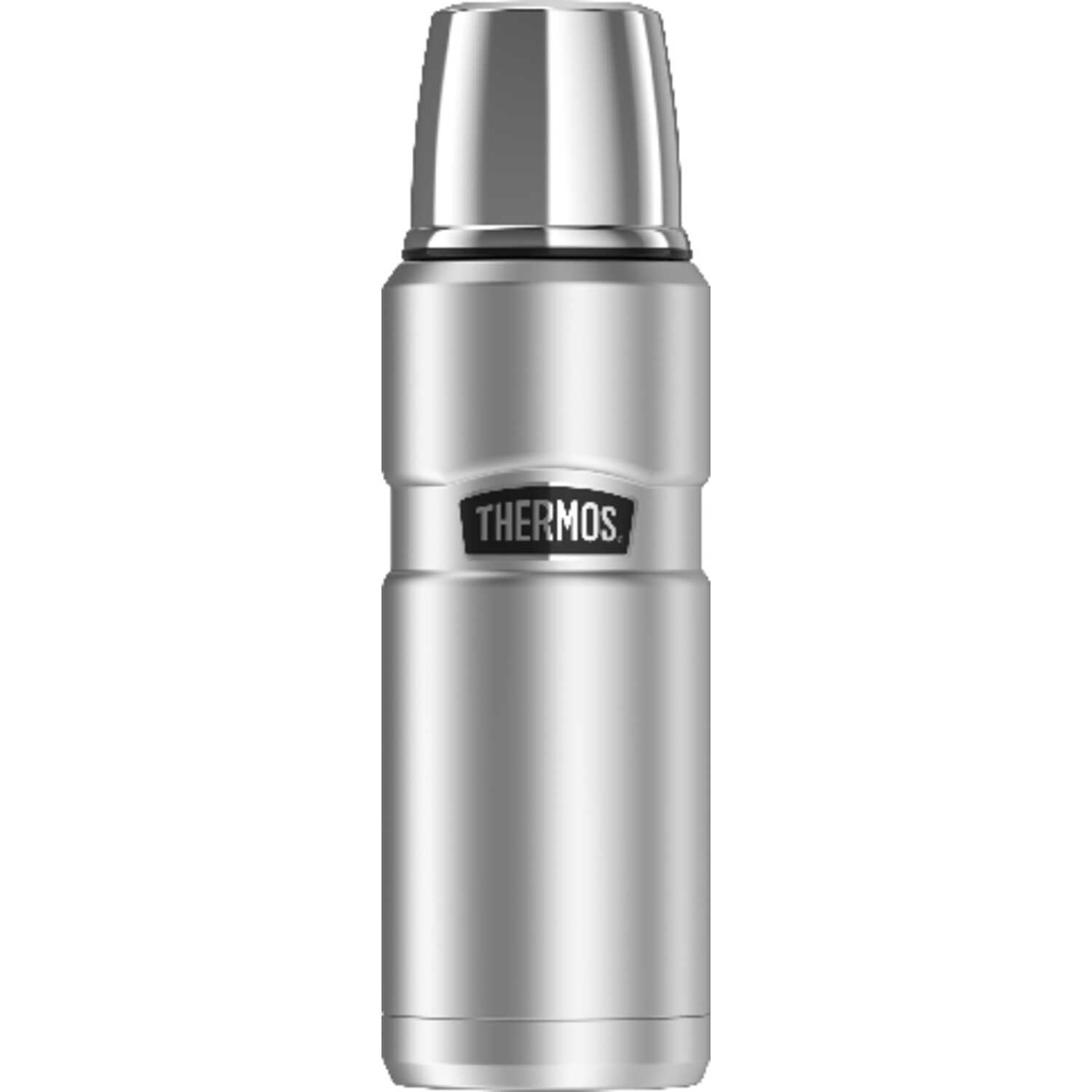 Thermos  Stainless  Stainless Steel  Vacuum Insulated  Beverage Bottle  BPA Free 16 oz.