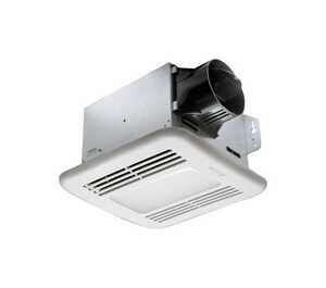 Delta  BreezIntegrity  80 CFM Ventilation Fan with Lighting  0.8 Sones
