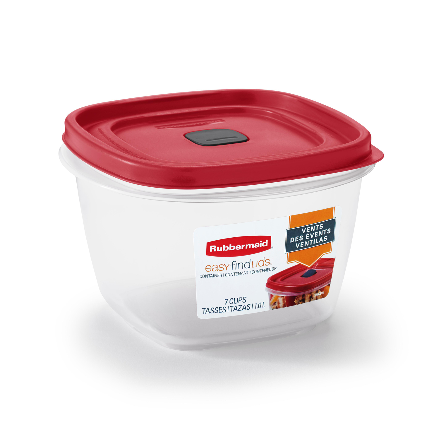 Rubbermaid  7 cups Food Storage Container