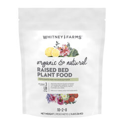 Whitney Farms  Organic and Natural  Granules  Plant Food  3 lb.