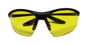 Sierra Ranch  Bi-Focal Safety Readers  Yellow Lens Black Frame 1 pc.