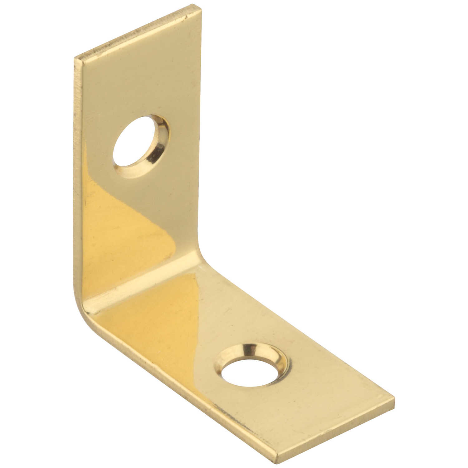 National Hardware  1 in. H x 1/2 in. W x 0.06 in. D Solid Brass  Inside  Corner Brace