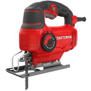 Craftsman  3/4 in. Corded  Keyless Jig Saw  5 amps 3000 spm U and T Shank  Variable Speed