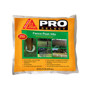 Sika  Pro Select  Fence Post Mix  33 oz.