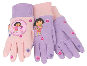 Midwest  Dora the Explorer  Gloves  Youth  Pink