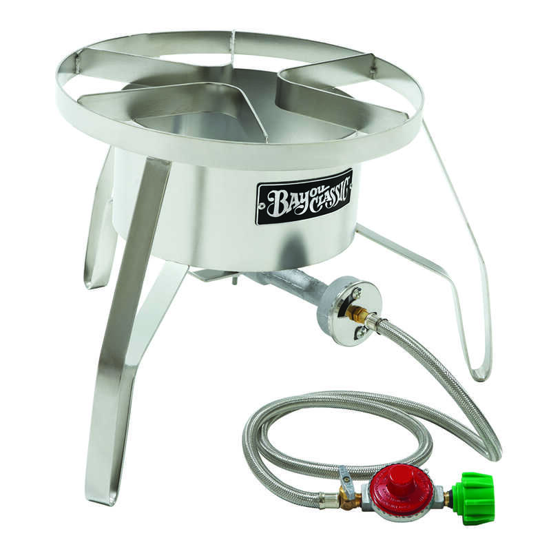 Bayou Classic  1  Outdoor Cooker  Stainless Steel  0 qt.