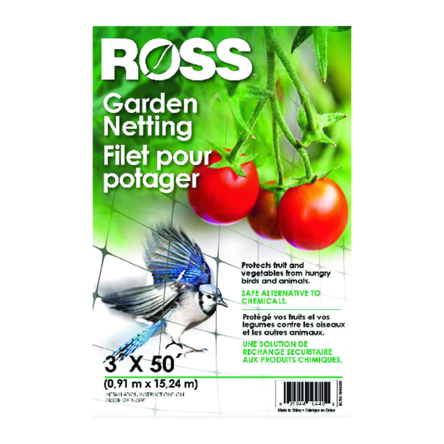 Ross  1 pk Garden Netting