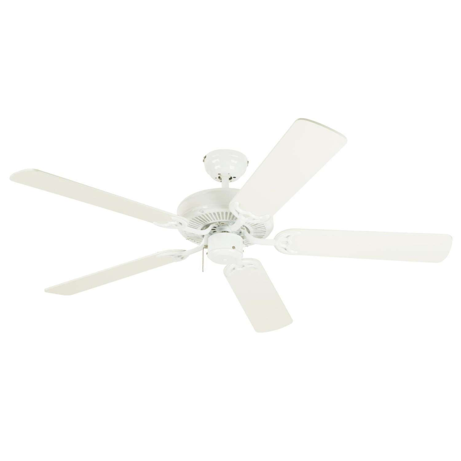 Westinghouse  Contractor's Choice  52 in. Antique White  Indoor  Ceiling Fan