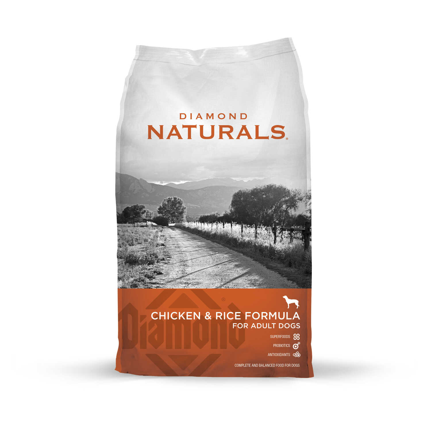 Diamond  Naturals  Chicken and Rice  Dog  Food  40 lb.