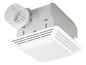 Broan  50 CFM 2.5 Sones Ventilation Fan with Lighting