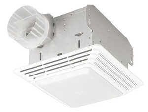 Broan  50 CFM Ventilation Fan with Lighting  2.5 Sones