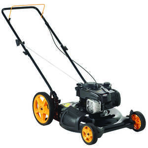 Poulan Pro  21 in. W 140 cc Manual-Push  Mulching Capability Lawn Mower