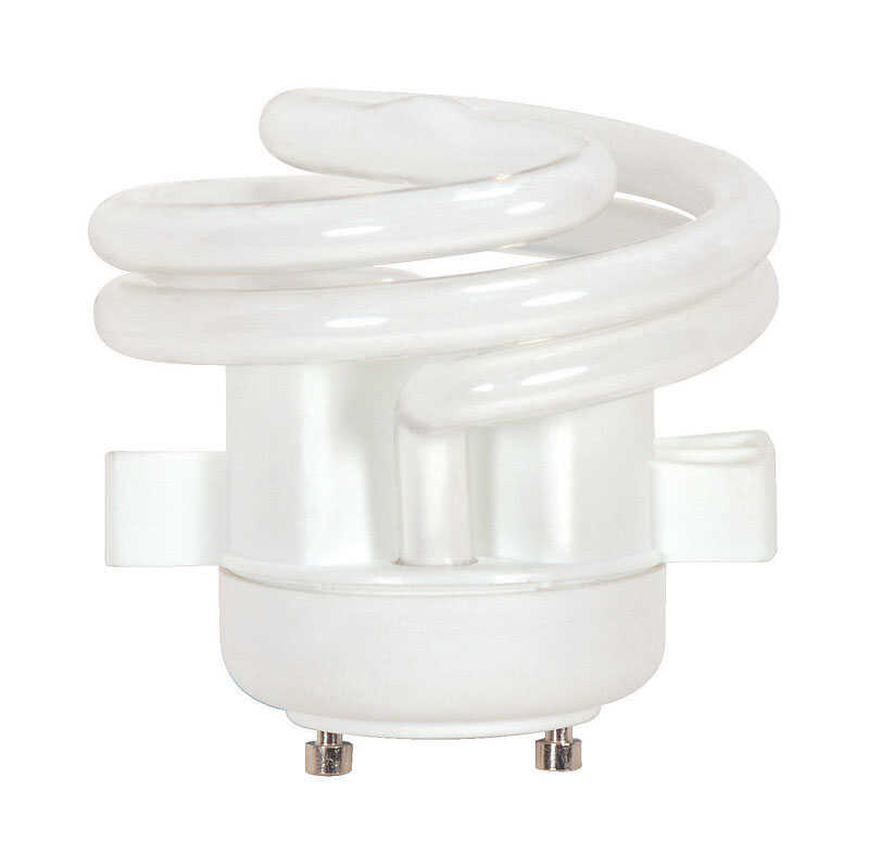 Satco  13 watts T2  2.28 in. Warm White  CFL Bulb  850 lumens 1 pk Specialty