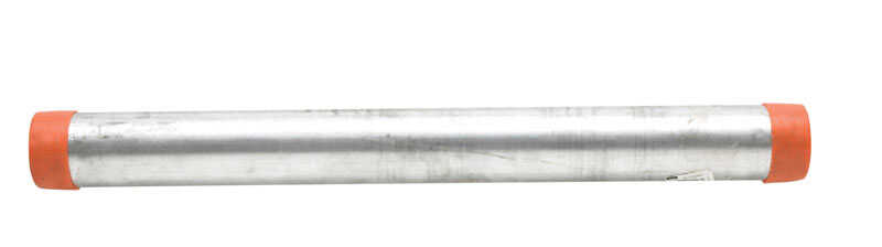 B&K Mueller  2 in. Dia. x 24 in. L Galvanized  Steel  Pre-Cut Pipe