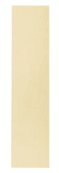 Schlage  15 in. L Bright Brass  Brass  Push Plate
