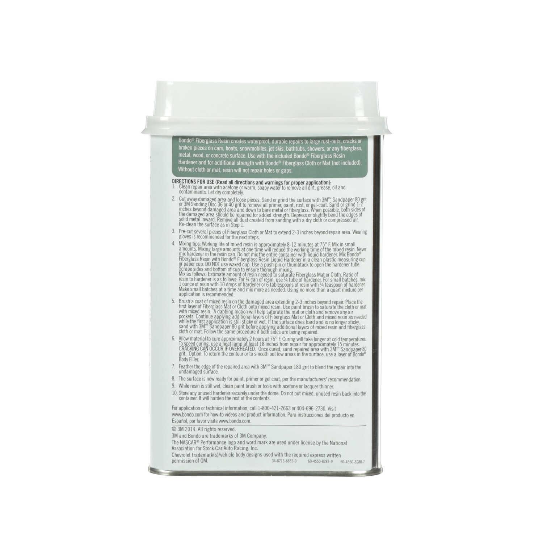 Bondo Fiberglass Resin 29 oz  - Ace Hardware