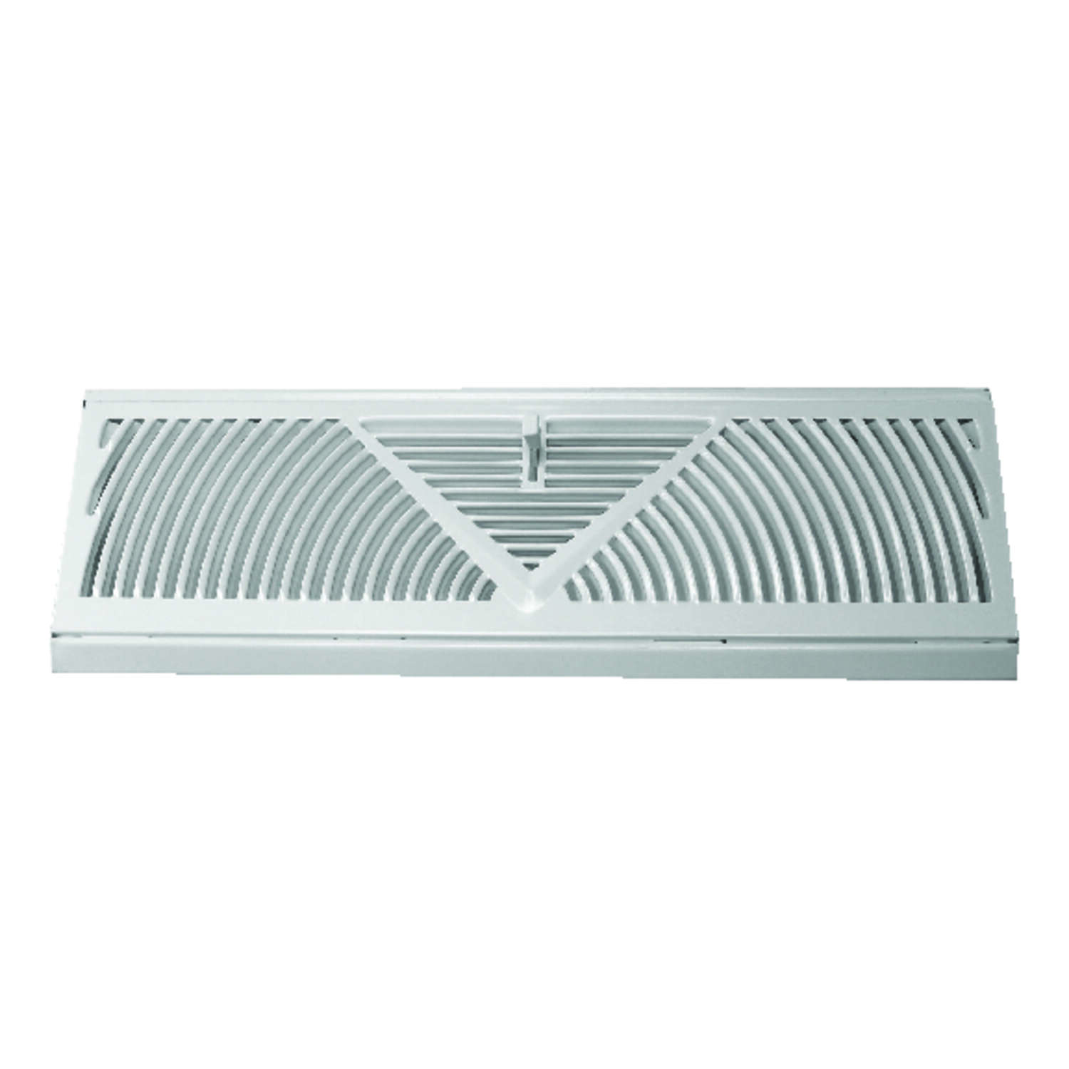 Tru Aire  4-1/2 in. H x 15 in. W 3-Way  Powder Coat  White  Steel  Baseboard Diffuser