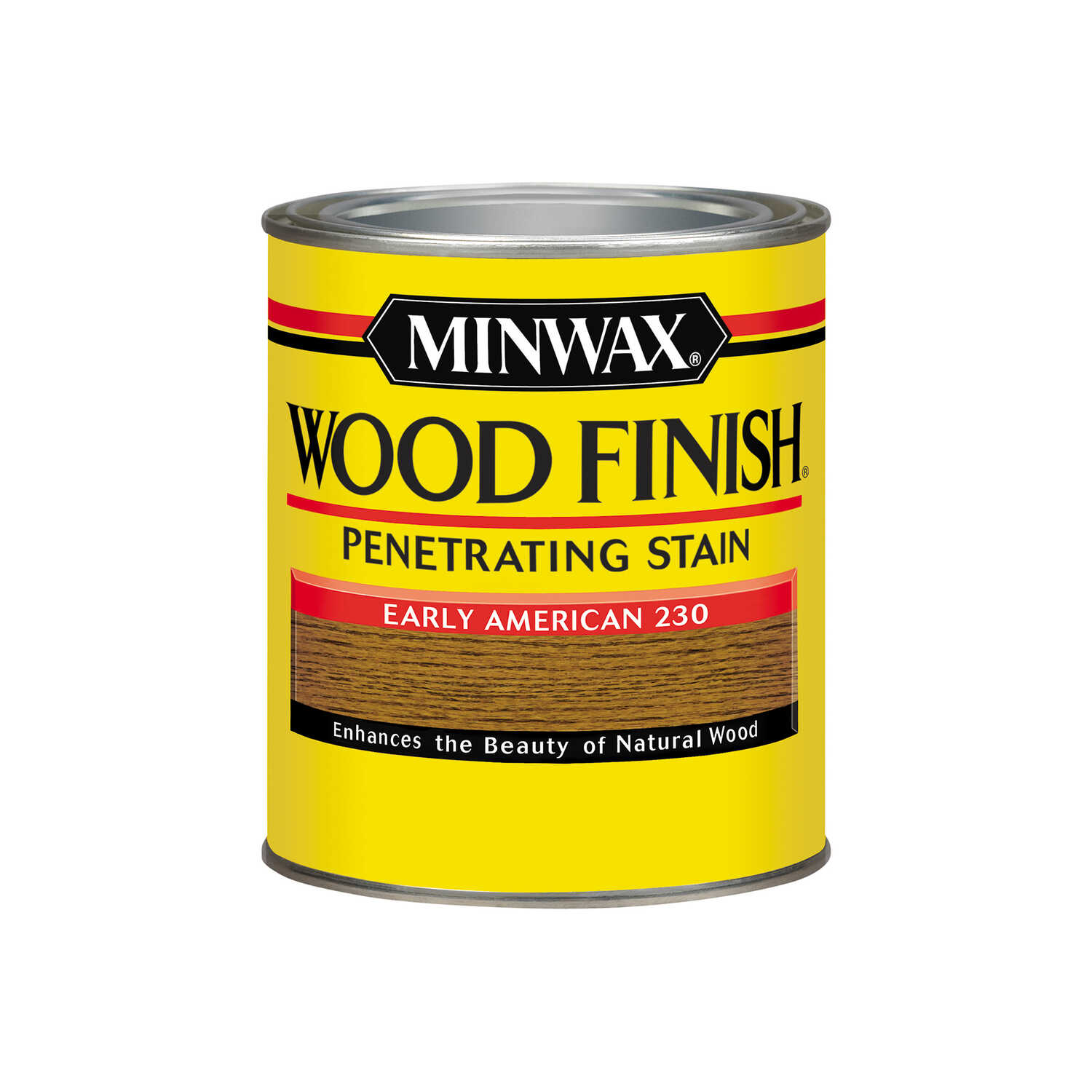 Minwax  Wood Finish  Semi-Transparent  Early American  Oil-Based  Oil  Stain  1 qt.