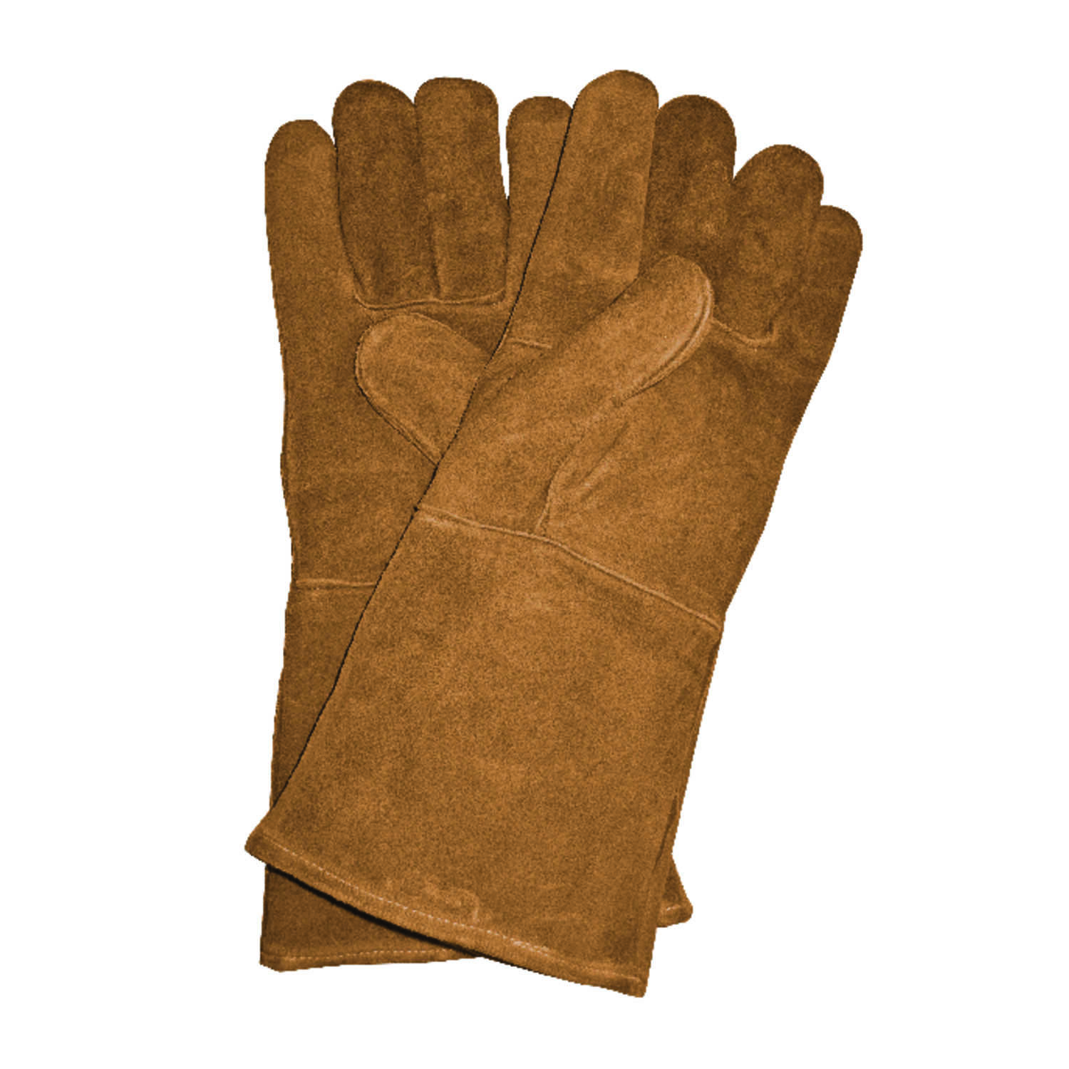 Panacea  Unisex  Indoor/Outdoor  Leather  Heavy Duty  Gloves  Brown  One Size Fits All