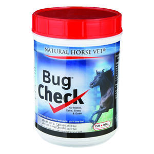 Bug Check  Solid  Reduce Fly Supplement  For Horse 2 lb.