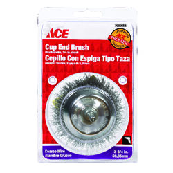 Ace  2-3/4 in. Crimped  Wire Wheel  Steel  4500 rpm 1 pc.