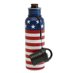 BottleKeeper  The Standard 2.0  Insulated Bottle Koozie  12 oz. Amercian Classic  1 pk