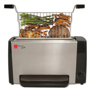 Ronco  Silver  Stainless Steel  Indoor Grill  60 sq. ft.