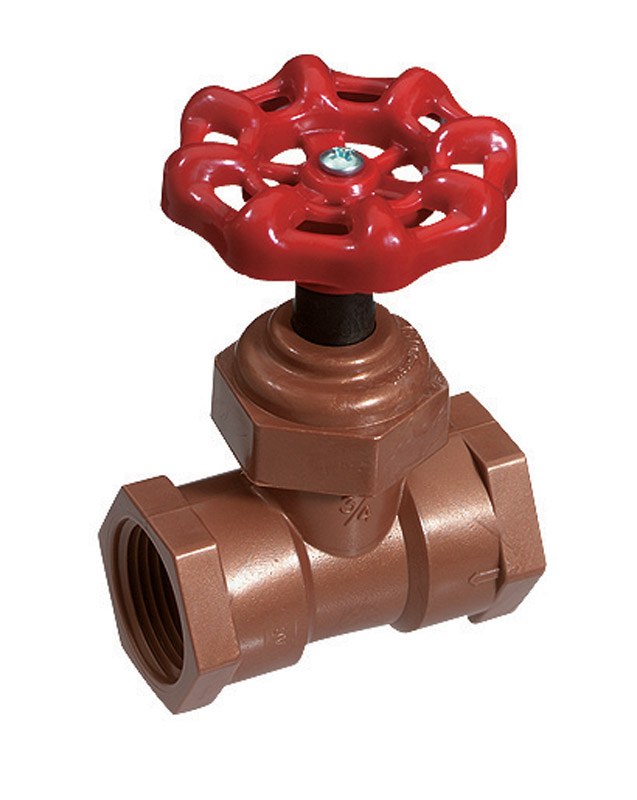 NDS  1/2 in.  x 1/2 in.  Stop and Waste Valve  Stop and Waste  Celcon