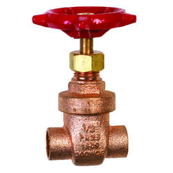 BK Products ProLine 1/2 in. Sweat Brass Gate Valve Lead-Free